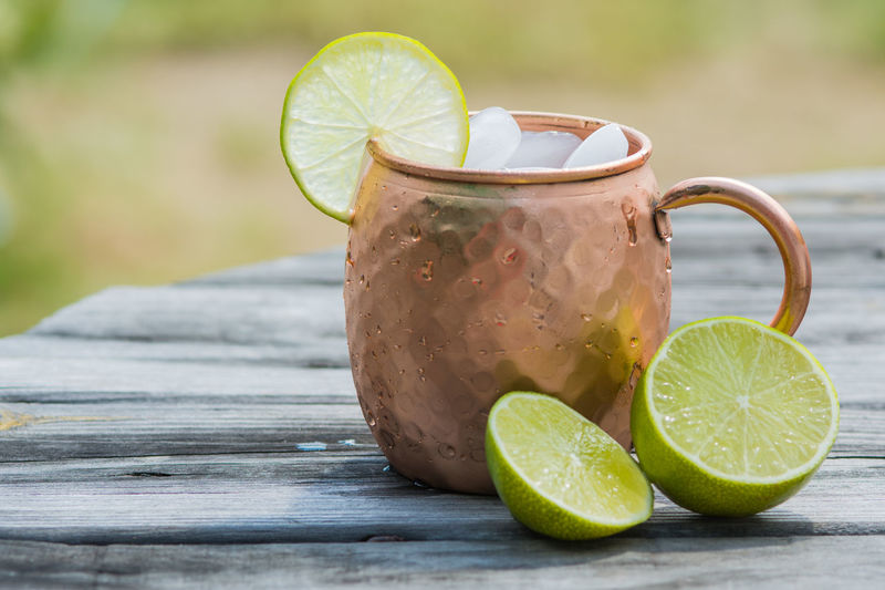 Moscow mule in