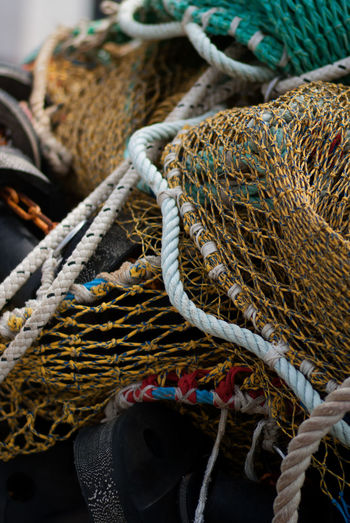 fishing in the street Abundance Arrangement Basket Choice Close-up Collection Day Display Focus On Foreground For Sale Group Of Objects Heap Large Group Of Objects Market Market Stall No People Repetition Retail  Rope Sale Selective Focus Stack Still Life Variation Work Tool
