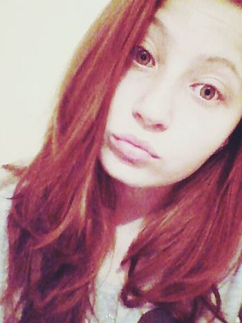 Gingerhair Green Eyes Damn Hot! Young Cool That's Me BORED! Watching Supernatural