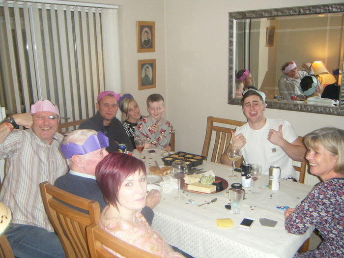 RePicture Family Xmas Inlaws Enjoying Life