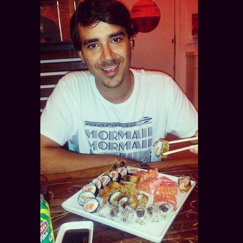 Hoje vamos de comida oriental. Melhor do Sushi! Goodnight Japanese  FomeZero GoodGula BomDimais SushiReis Makimonos