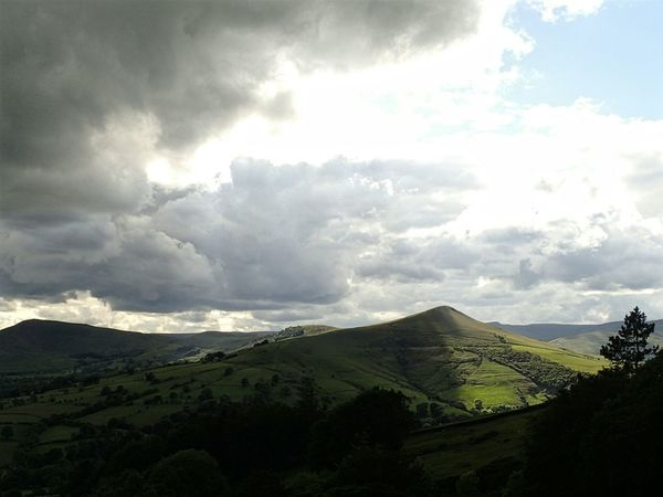 Sun, chasing cloud, chasing sun across the Peaks on mid-summer's day. EyeEm Nature Lover EyeEm Best Shots - Landscape Enjoying The Sun Peak District  Hiking Trail English Countryside English Summer Nature_perfection