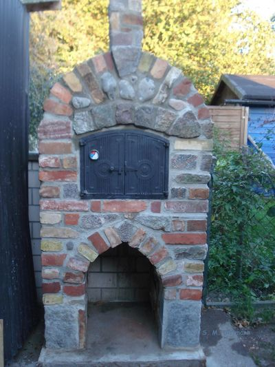 Backofen Mauersteine Architecture Building Built Structure No People Outdoors Recycling Stone Oven Baked Zweite Weltkrieg