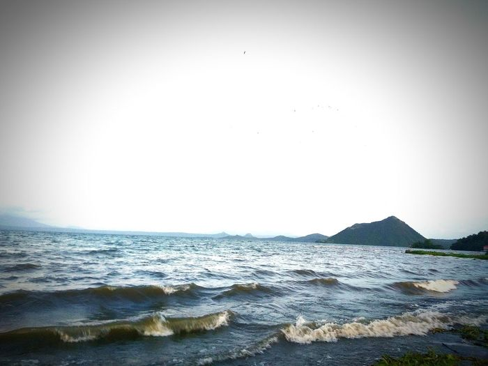 Photography Cell Phone Photography Taal Volcano Taal Lake Laurel Batangas Pilipinas Hometown Beauty In Nature Beach Sky Nature