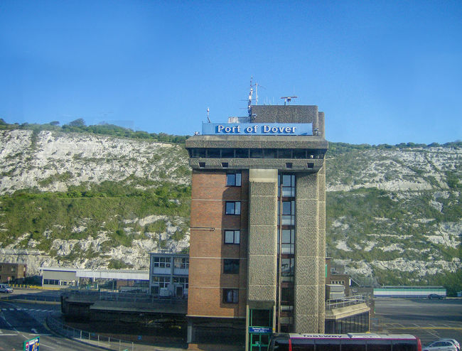Architecture Building Exterior Built Structure Clear Sky Communication Day Dover England Gran Bretagna Great Britain Großbritannien Hafen Harbour Inghilterra No People Outdoors Port Porto Sky Text Tree