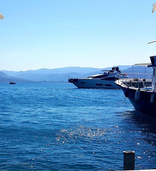 Akyaka, Mugla Water Nautical Vessel Sea Blue Clear Sky UnderSea Sky Boat Sailing Boat Sailing Shore Sailboat