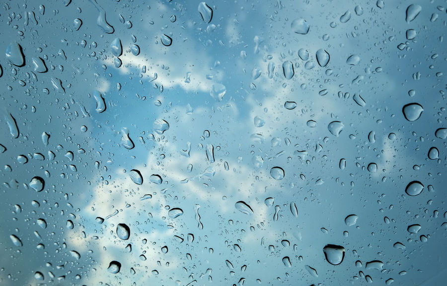 Sky And Clouds Backgrounds Close-up Condensation Day Drop Drop Of Rain Freshness Full Frame Futuristic Illuminated Indoors  Nature No People Rain RainDrop Rainnyday💧☔☔ Sky Textured  Water Weather Wet Window