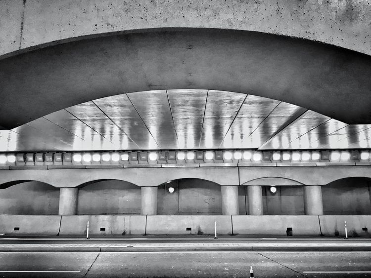 Beautifully Organized Architecture Built Structure Arch Embrace Urban Life Detail Lights City Close-up Street Road Tunnel Black And White Background Contrast Texture Pattern Shadow Building Stone Underpass Dark Abstract Pillars Architectural Detail