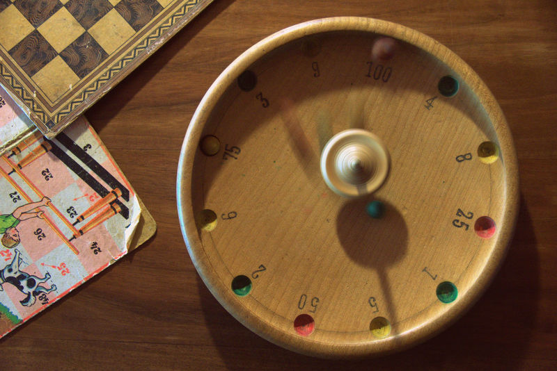 Playing games in the good old times. Antique Children EyeEmNewHere Fun Games Gaming Kids Memories Memories ❤ Wood Ballenberg Balls Childhood Game Historic Historical History Memory Museum Museums Playing Roulette Roulette Table Wood - Material Wooden