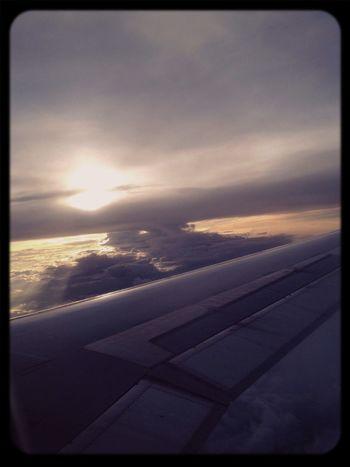 Lightandshadow Flying Epicsunset