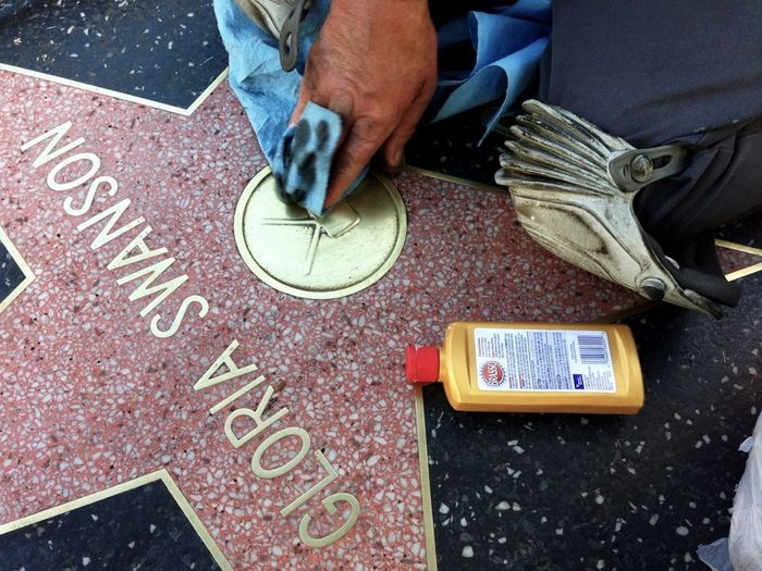 If you've ever wandered around Hollywood Blvd, you might have asked yourself how is it that the brass stars along the Walk of Fame are so shiny. You'd think it was courtesy of the city of LA, but it is the unlikely elbow grease of an Angelino named John.