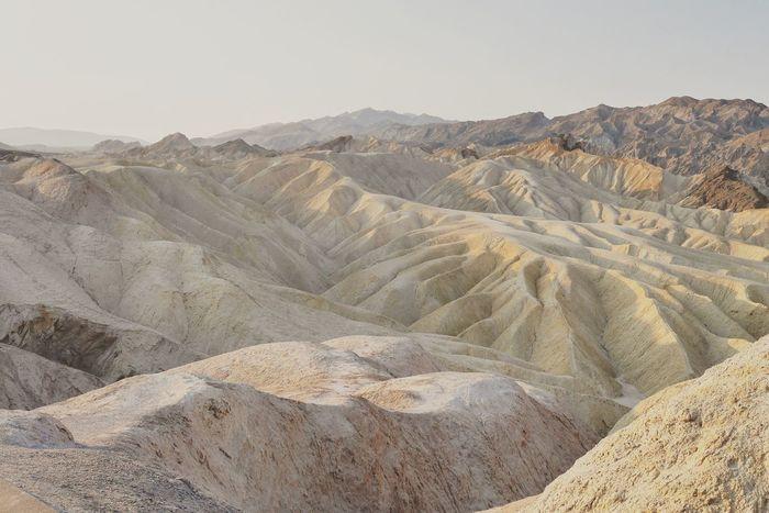USA Death Valley Zabriskie Point California Landscape