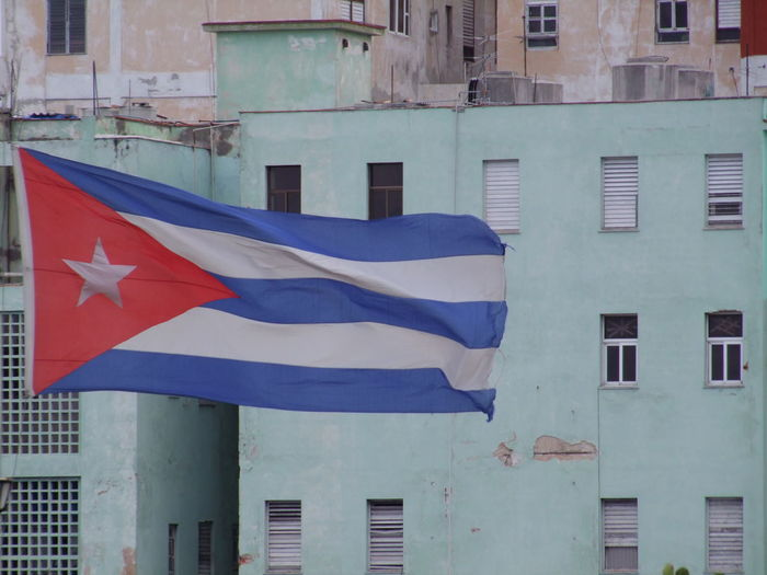 Cuban Flag City City Life Composition Cuba Cuban Flag Culture Flag Full Frame Havana Multi Colored No People Outdoor Photography Red, White And Blue Tourism Tourist Attraction  Tourist Destination Traditional