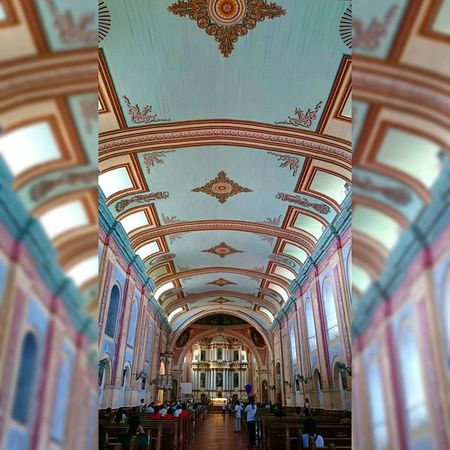 13 of 14 Minor Basilica of Saint Michael The Archangel - Tayabas church [built in 1585] || Via Crucis 2015 . . . Lent2015 Viacrucis Church Heritage themanansala