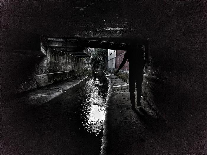 The Underground Underground Germany Streetphotography Coesfeld,germany Berkel One Person Focus On Shadow Low Section Human Foot Human Leg Shoe