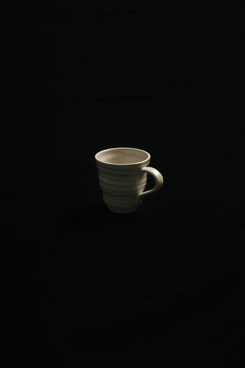 Cup Mug Coffee Cup Black Background Still Life Close-up Tea Cup Crockery