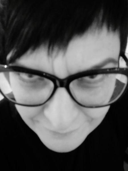 Best friend 😍 Sony Xperia Photography. Eyeemfaces Fashion Monochrome Faces Of EyeEm Eye4photography  EyeEm Best Shots - Black + White EyeEm Gallery Moschinolove Soft Features Striking Beauty Blackandwhite Friendship Eyeglasses  Portrait