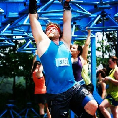 66th OCR. Reinjured my shoulder on this obstacle. Gonna be a long year Ocr Ocrunited Savageraceohio2015 Savage Savagerace Teamcorepower Hyletecompeteteam Eatnutzo 2XU Inov8 Ocrgear Skins Buffalo 716