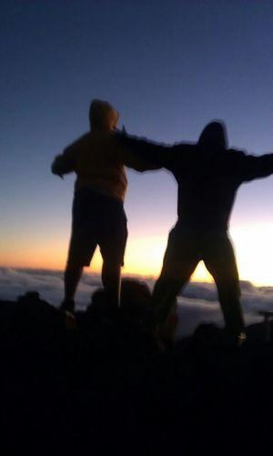 Me And Everson At Haleakala