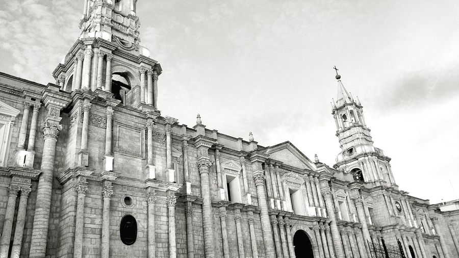 Arequipa No People Built Structure History Architecture EyeEm Selects Arequipa Peru Blackandwhite