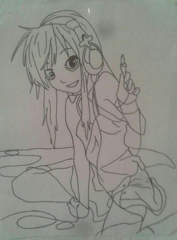 Art Anime Nofilter#noedit