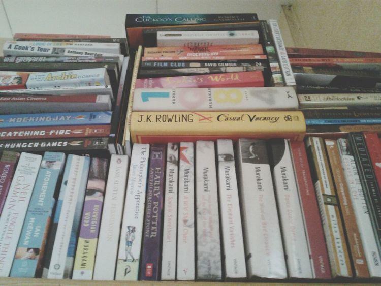 View of the top. Books Eyeem Philippines Haruki Murakami