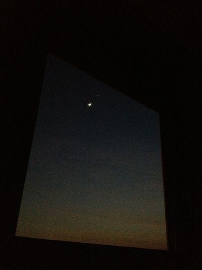 Moon And Venere