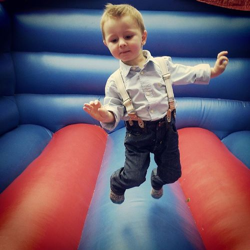 Alfie Nephew  Cool Dude Braces Bouncy Castle Air Childhood Fun Family Love NeverGrowUp Samsung S6 Moment Captured