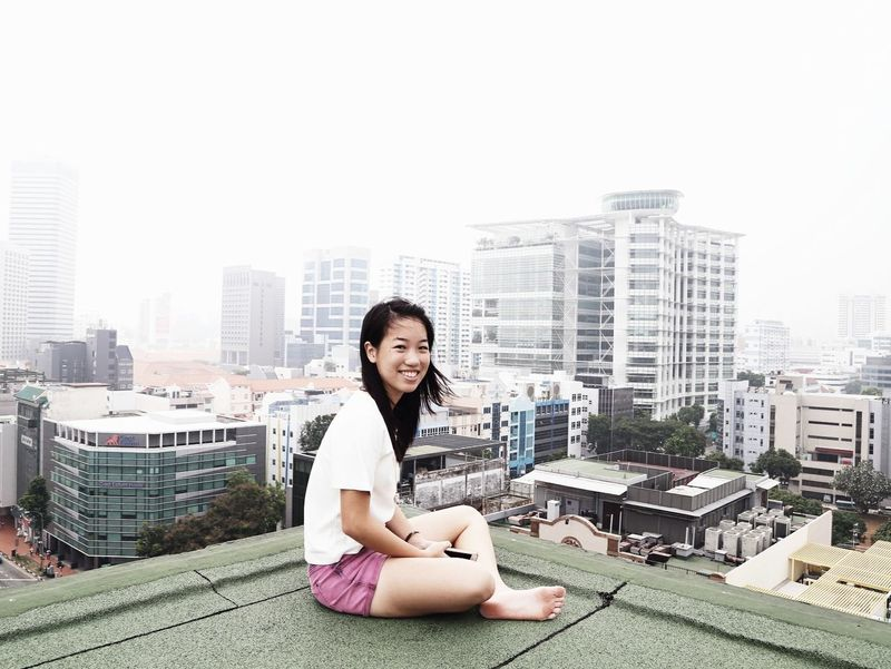 all things safe and familiar Urban Architektur ArchiTexture Architectural Detail Architecture_collection Architecture Singapore Portrait Portrait Of A Woman Portraits Portrait Of A Girl Urban Geometry Pastel Power Eye4photography  EyeEm Best Shots EyeEm Best Edits Adventure Explore Pastel City Cityscapes Exthetics Rooftop Rooftopping