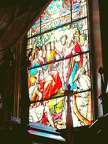 Window Stained Glass Window Urbanphotography Centuries Old 1847 Building Interior Old Church Picture Cathedral