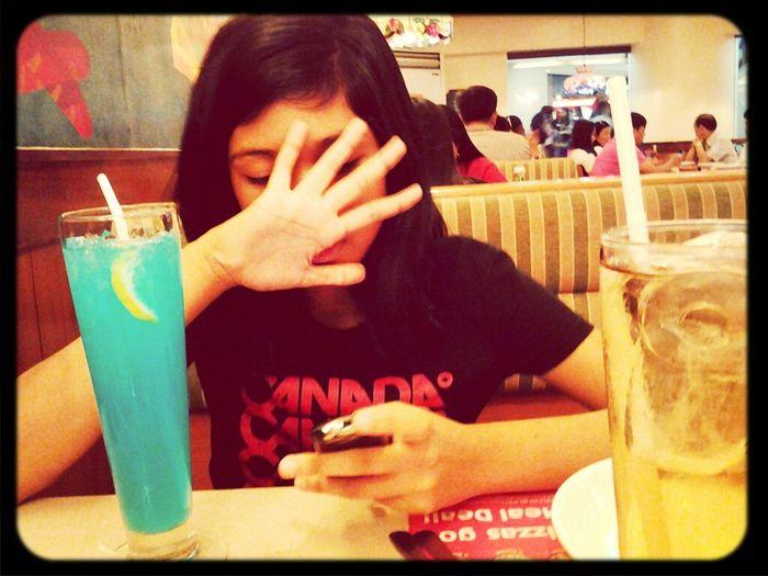 At Shakey's♥