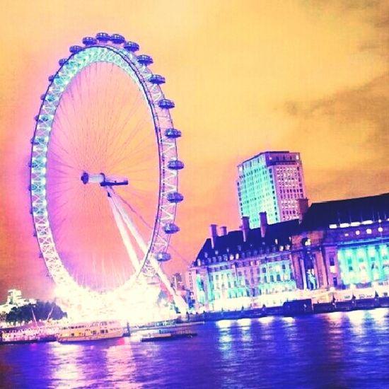 Summer London Eye London Color England London2012 Nastalgic