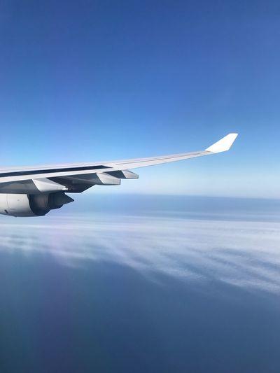 High in the sky... Work Lovemyjob Earth Globe Travelgram Travel Destinations Travelphotography Travel Inspirational Plane Blue Flying Sky Journey