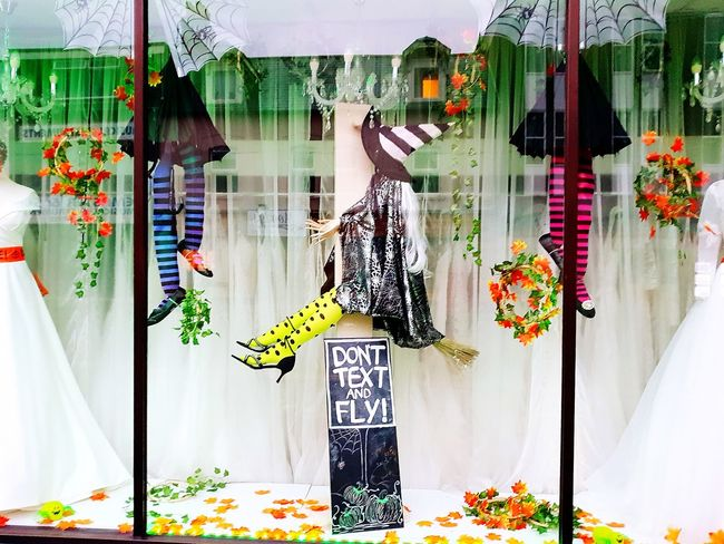 Halloween Outside Photography EyeEm Selects Flower Multi Colored Curtain Architecture Colorful Display