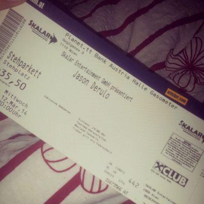 finally bought them. ♥ GotIt Jasonderulo Talkdirty Concert ticketcan'twaitlookingforitgasometeroetickets:)) .