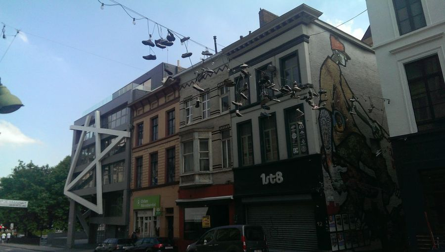 Street Art Shoe Fetish