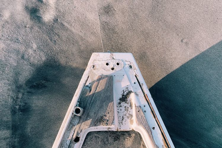 Boat at the sand