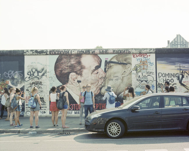 Art Berlin City Creativity Day Enjoying Life Eye4photography  EyeEm Best Shots EyeEm Gallery Film Germany Graffiti Lifestyles Outdoors Pentax PENTAX67 Portra160 Streetphotography Travel Destinations Wall 43 Golden Moments Eye4photography  Fine Art Photography Capture Berlin Art Is Everywhere Berlin Love Discover Berlin