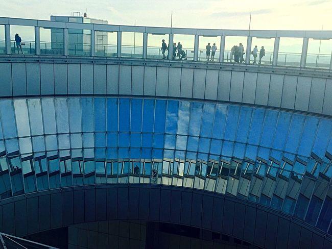 青空 Summer Japan Japanese  夏 空中散歩 Oosaka  大阪 Sky Blue 写真好き ファインダー越しの私の世界 IPhone Iphone 6 Iphonephoto