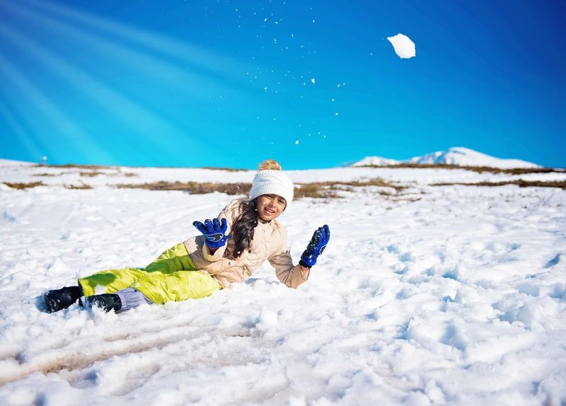 Snow Winter Joy Vacations Warm Clothing Ski Holiday Kids Photography Travel Destinations Travelphotography Turkey Uludag Snow Holidays