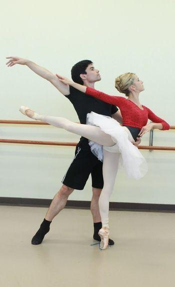 Balletboy Pas De Deux Danseuse étoile Pointes