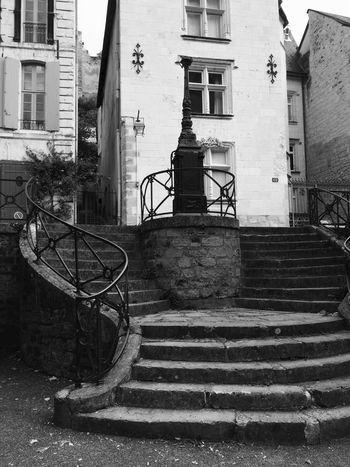 Architecture Castle Chinon Stairway Statue Blackandwhite Château Château De Chinon Day No People Sculpture Wine