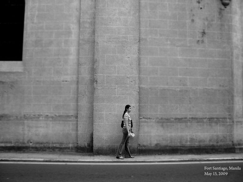 fort santiago, Intramuros,manila Church Wall Walking Fort Fort Santiago  Philippines