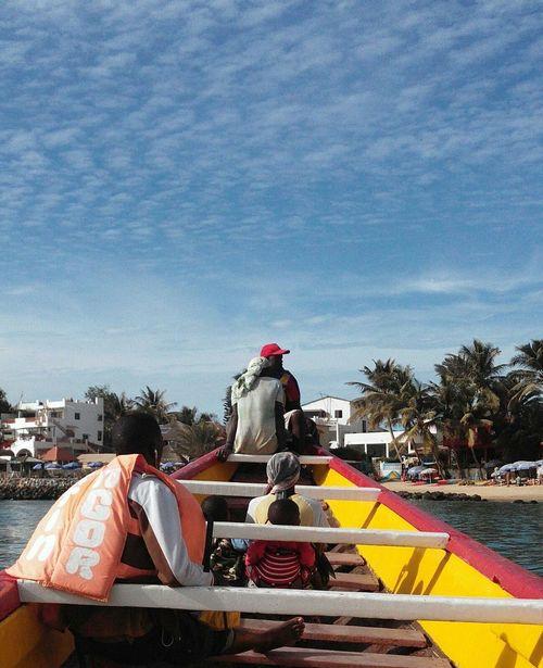 Ngor Canoe Family Bluesky Africa Dakar Ngor Roadtrip Men Beach Afrique WestAfrica Sky