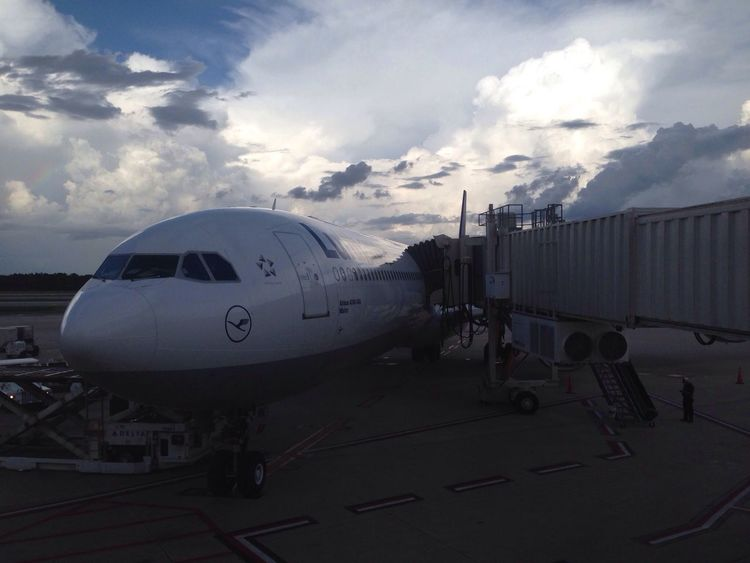 Landed! Plane Airport Lufthansa