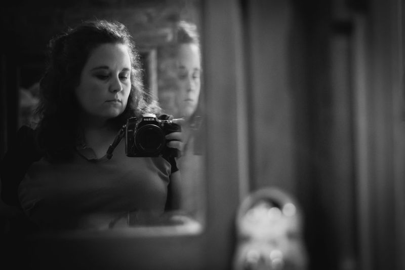Me Real People One Person Young Women Self Portrait Selfie ✌ Reflection Mirror