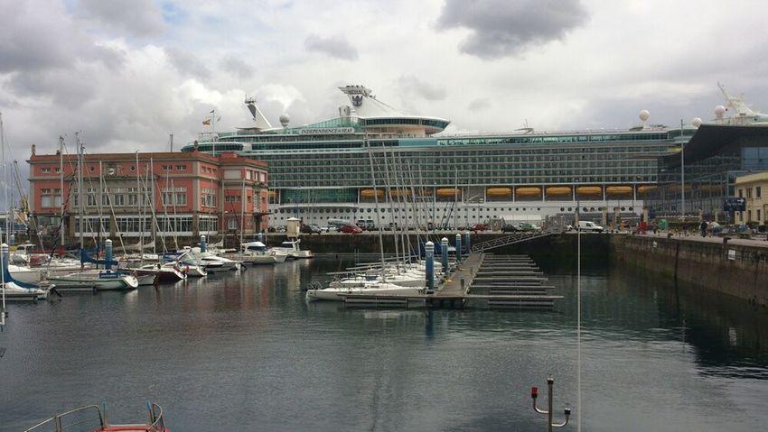 Relaxing Going Sailing Ship Cruise Ship