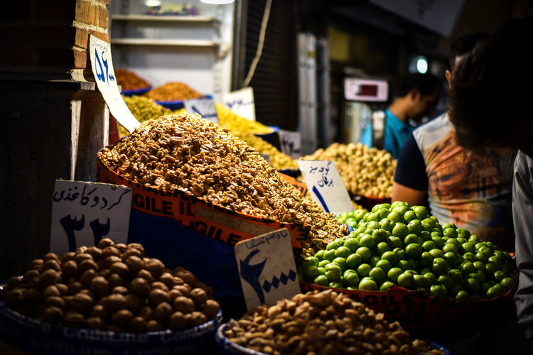 Bazaar City Life Cityscape Market Travel Abundance Choice Close-up Food Food And Drink For Sale Freshness Fruit Grand Bazaar Healthy Eating Iran Irantravel Large Group Of Objects Market Market Stall Outdoors Price Tag Retail  Stall Variation