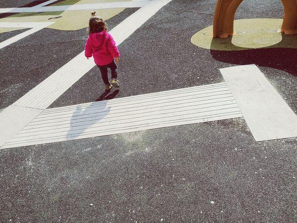 Toddler  Toddlerlife Toddler Walking Kid Walking Child Walking Walking Walking Around Playground Childhood Memories Growing Up Explore The World Low Section Full Length Childhood Shadow Wet