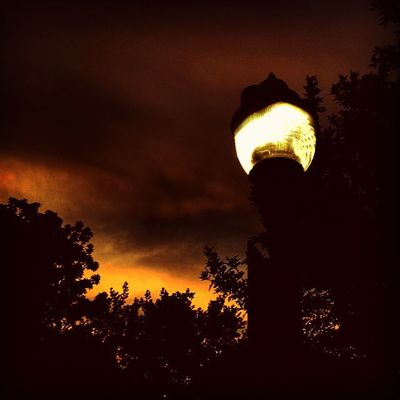 Burn bright through the dark, dark night... Lamp Sky Itsabeautifulevening